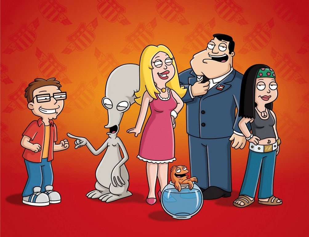 American Dad - FOX TV in the UK